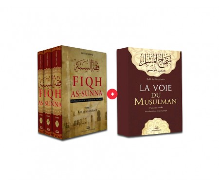 Coffret 2 Livres ! Fiqh Sunna + La voie du Musulman