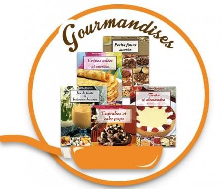 """Coffret 5 livres """"Gourmandise"""""""
