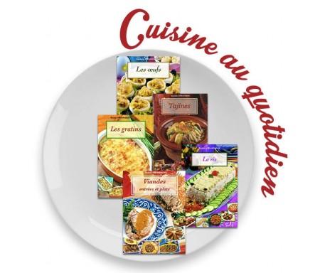 """Coffret 5 livres """"Cuisine au Quotidien"""""""