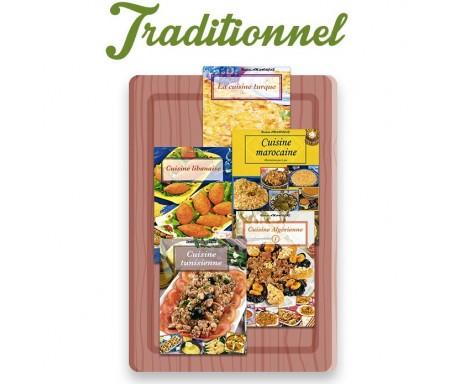"""Coffret 5 livres """"Cuisine Traditionnelle"""""""