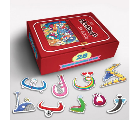 Les Houroufs en boîte - Figurines magnétiques