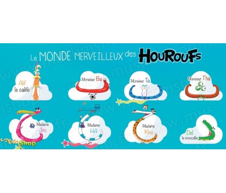 Houroufs - Poster A2