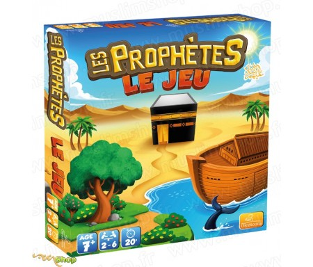 Les Prophètes, Le jeu - 400 questions et Défis ! (A partir de 7 ans)