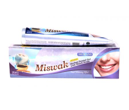Hemani - Dentifrice Miswak a la nigelle et siwak 100g