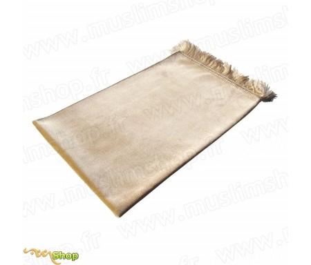 Tapis de Prière Velours Luxe - Jaune sable