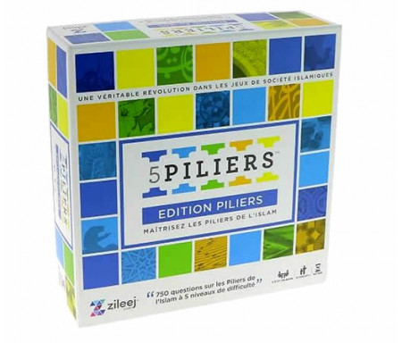 Jeu 5 Piliers - Edition Piliers (A partir de 10 ans)