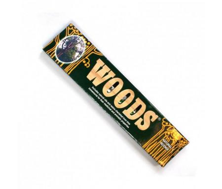 """15 Bâtonnets d'encens Naturel """"Woods"""" (Inde)"""