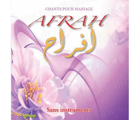Chants pour mariage AFRAH (sans instruments)