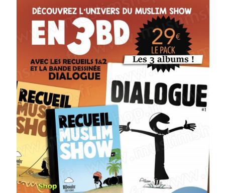Pack Découverte Bdouin : Dialogue / Recueil 1 / Recueil 2