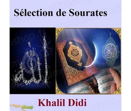 CD Une sélection de sourates Cheik Khalil DIDI