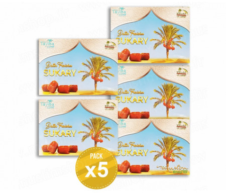 5 x Dattes Sukary - 1,5kg