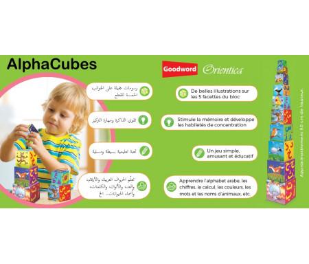 AlphaCubes - Le jeu d'empilement de l'alphabet arabe et français