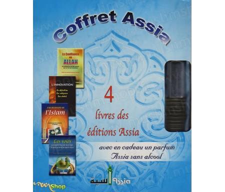 Coffret Assia 4 livres + 1 parfum