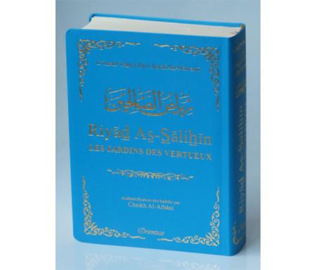 Riyad As-Salihîn - Le jardin des vertueux (couverture bleu-clair dorée)
