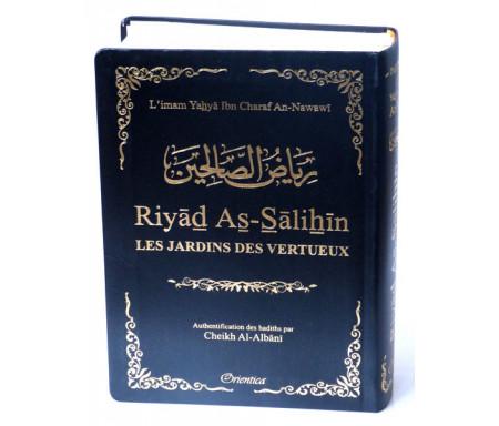 Riyad As-Salihîn - Le jardin des vertueux (couverture noire dorée)