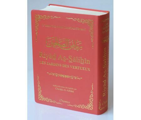 Riyad As-Salihîn - Le jardin des vertueux (couverture rose saumon dorée)