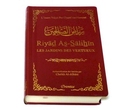 Riyâd As-Sâlihîn - Les Jardins des Vertueux (Le Riad en format de poche couleur bordeaux