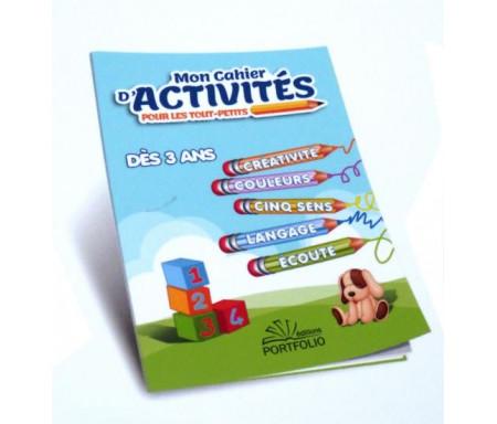 Mon cahier d'activités pour les tout-petits (dès 3 ans)
