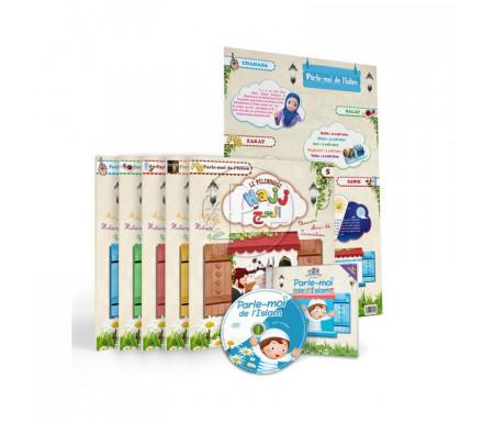Pack 5 Livres, CD et Poster - Parle-moi de l'Islam