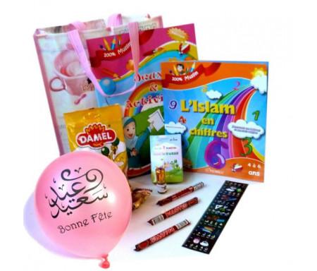 """Pack cadeau """"Jeux et activités"""" (3 - 6 ans) pour filles"""
