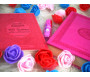 Pack Cadeau pour femme couleur rose (Coran - Les 40 hadiths an-Nawawî - Parfum - Sac cadeau)