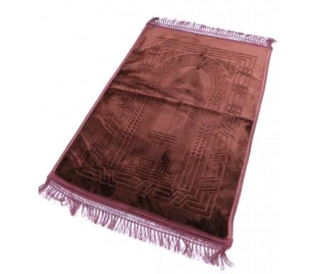 Grand tapis épais avec motif Arabesque -