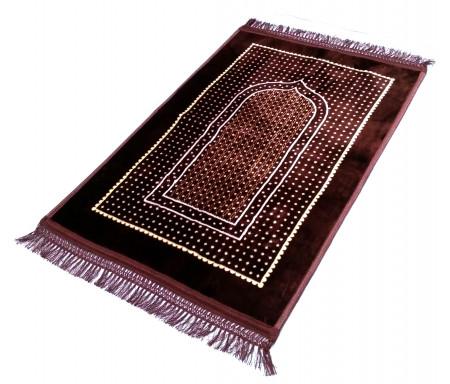 Grand tapis épais avec motif Arcade et Pois -