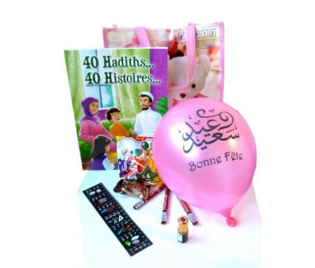 Pack cadeaux : 40 hadhiths... 40 histoires... (version filles)
