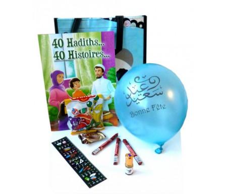 Pack cadeaux : 40 hadhiths... 40 histoires... (version garçons)