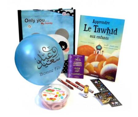 Coffret Cadeau Islam : J'apprends le tawhid pour enfants (Version garçons)