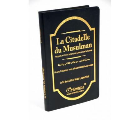 La Citadelle du musulman (Hisnul Muslim) - noir - Rappels et Invocations du Livre et de la Sunna (arabe/français/phonétique)