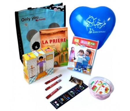 Coffret Cadeau : J'apprends la prière pour les enfants (Spécial Garçons)