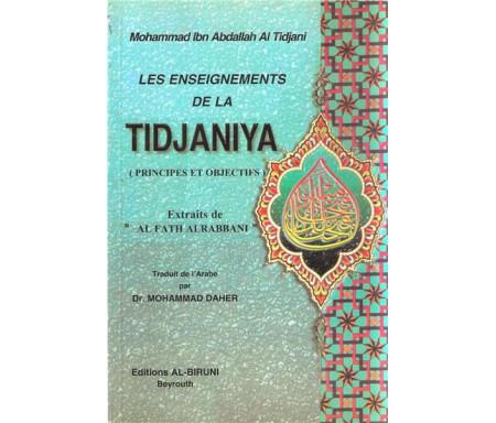 Enseignements de la tidjaniya, principes et objectifs