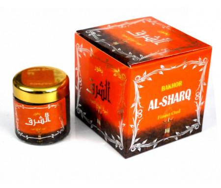 """Bakhour (encens) parfumé """"Al-Sharq"""" (Orange)"""