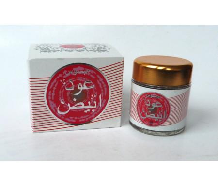 """Encens Oudh parfumé """"Oud Abyad"""" (Oud Blanc) - عود أبيض"""