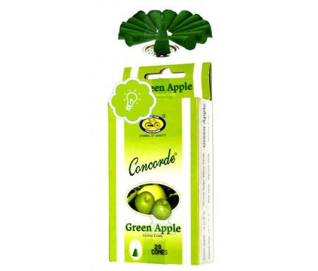 Encens bakhour Concorde - 20 cônes parfumés Pomme verte - Cycle Green Apple Concorde Incense Cones