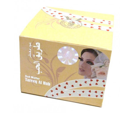 "Oudh parfumé ""Tareeq Al Hub"" - 60 g net - ""عود معطر"" طريق الحب"
