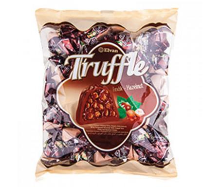 """Bonbons Halal """"Truffle"""" au Chocolat fourré à la Noisette - Elvan 500g"""