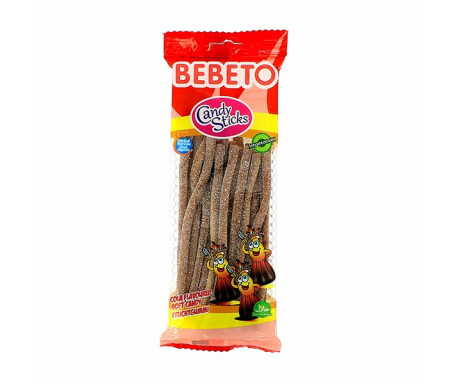 BEBETO (0536) Candy Bonbon Halal Belt Fourré Cola Acide 180gr x 24pcs