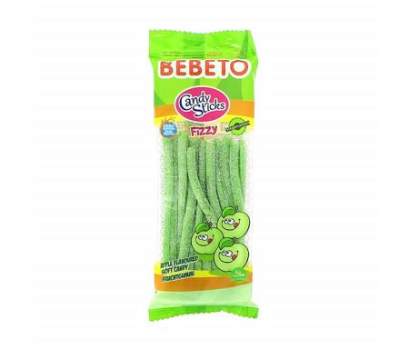 BEBETO (0535) Candy Bonbon Halal Belt Fourré Pomme Acide 180gr x 24pcs