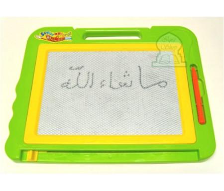 Ardoise magique à crayon magnétique pour enfants (20 x 25)
