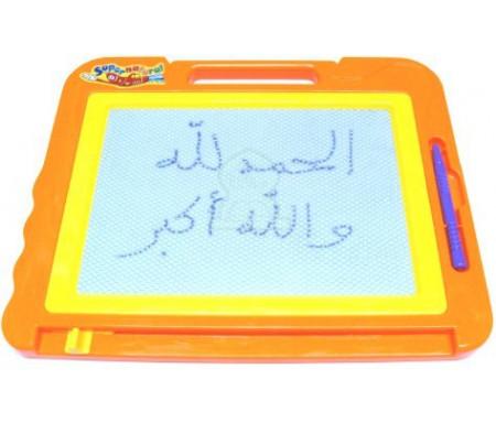 Ardoise magique à crayon magnétique pour enfants (21 x 26)