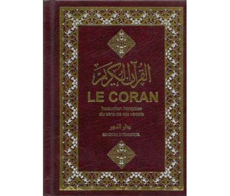 le coran traduction française du sens de ses verset - fr - 11x14 cm