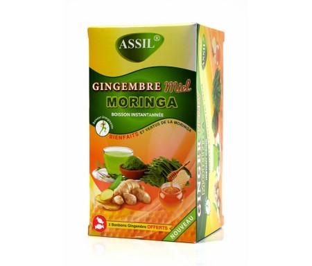 Assil - Thé naturel gingembre au miel