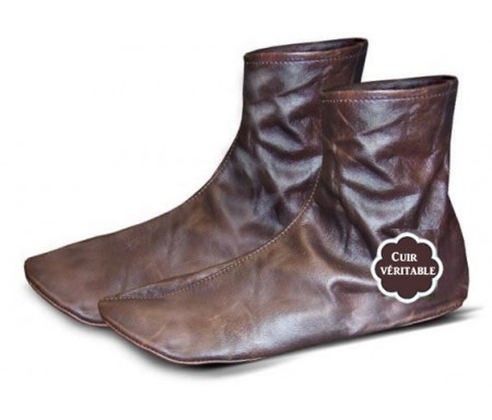 Chaussettes en cuir - Khouff (Pointure 41) - Khuff qualité supérieure