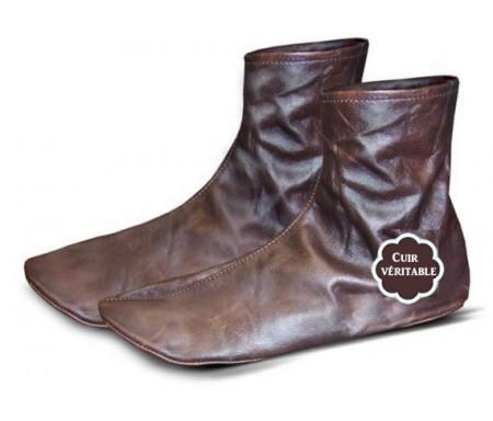 Chaussettes en cuir - Khouff (Pointure 44) - Khuff qualité supérieure