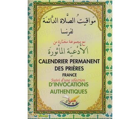 Calendrier Permanent des Prières (France)