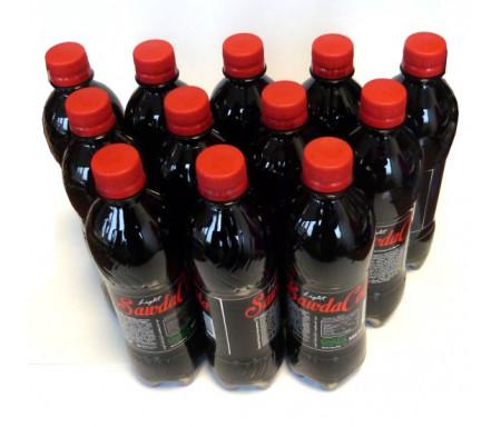 Pack de 12 bouteilles SawdaCola Light (à l'extrait de Habba Sawda, sans sucre, sans calories, sans aspartame)