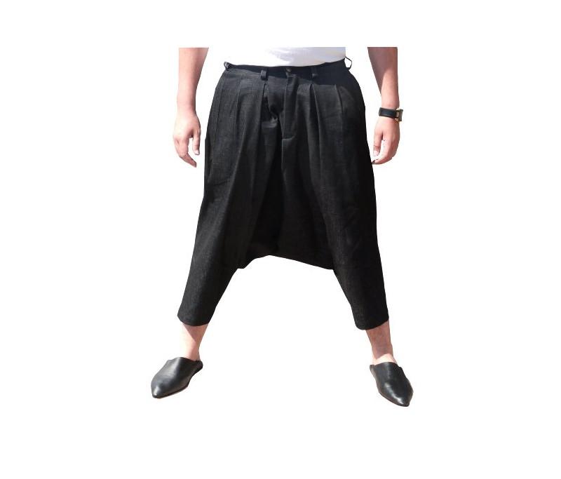 Deluxe Pantalon Haramayn Pw80okn Sarouel Al Homme Jeans Ceinture Pour À J3Tlc1FK