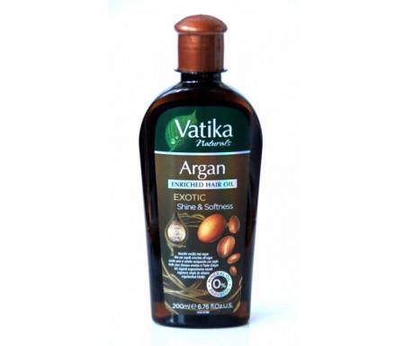 Huile Vatika à l'argan pour les cheveux - Vatika - 200 ml - Vatika Marrocain Argan Oil